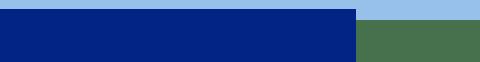 Barre gauche bleu - X'Press Formalités