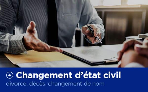 Changement d'état civil - Permis de conduire - X'Press Formalités