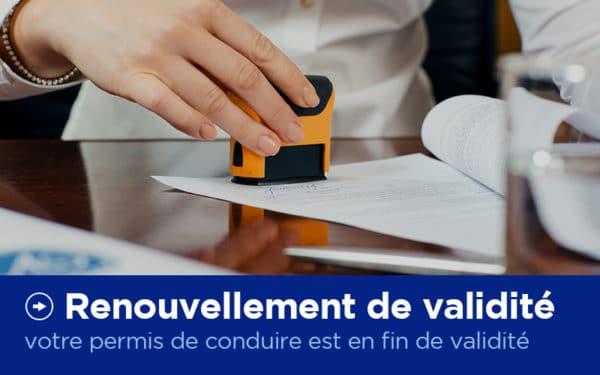Renouvellement de validité - Permis de conduire - X'Press Formalités